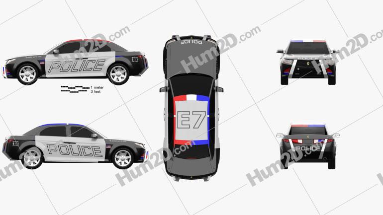 Carbon E7 2012 car clipart