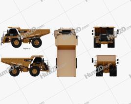 Caterpillar 775F Dump Truck 2018