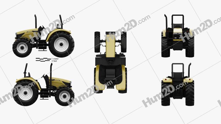 Caterpillar Challenger MT400B 2012 Tractor clipart