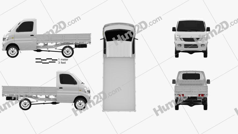 Chana Star Truck Single Cab 2011