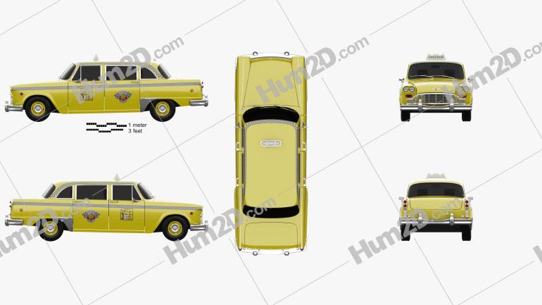 Checker Marathon (A12) Taxi 1978