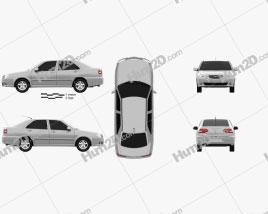 Chery Cowin 2 (A15) 2011 car clipart
