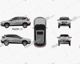 Chery Tiggo 2 2018 car clipart