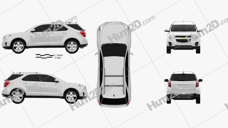 Chevrolet Equinox 2010 car clipart