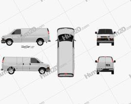 Chevrolet Express 2011 clipart