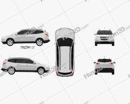 Chevrolet Traverse 2011 car clipart