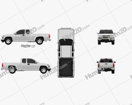 Chevrolet Colorado Extended Cab 2012