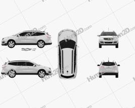 Chevrolet Traverse 2013 car clipart