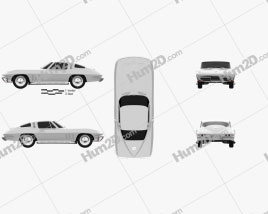 Chevrolet Corvette Sting Ray (C2) 1965