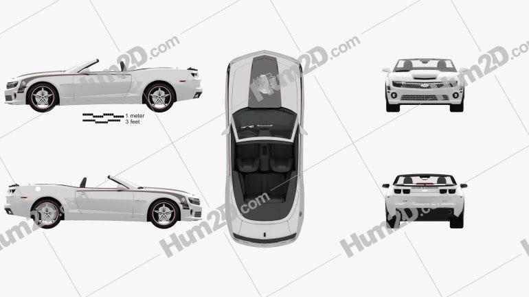 Chevrolet Camaro Black Hawks with HQ Interior 2011 car clipart