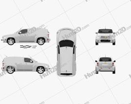Chevrolet HHR Panel Van 2011 clipart