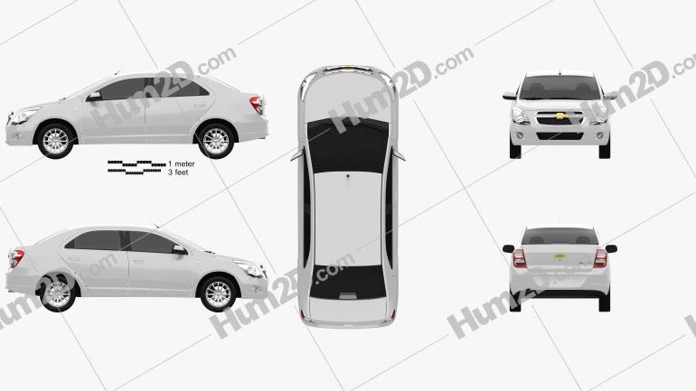 Chevrolet Cobalt 2012 car clipart