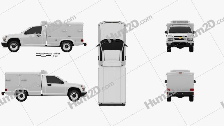 Chevrolet Colorado Hotshot II 2011 car clipart