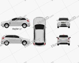 Chevrolet Captiva (Brazil) 2012 car clipart