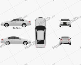 Chevrolet Epica (CN) 2012 car clipart