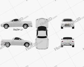 Chevrolet SSR 2003 car clipart