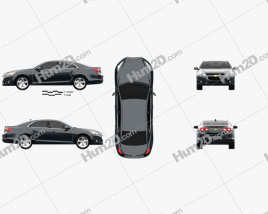 Chevrolet Malibu 2013 car clipart