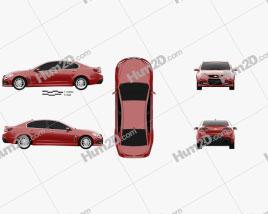 Chevrolet SS 2014 car clipart