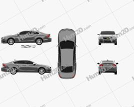 Chevrolet Impala LS 2014 car clipart