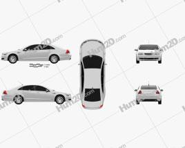 Chevrolet Caprice 2006 car clipart