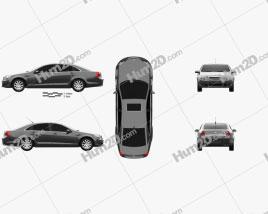 Chevrolet Caprice Royale 2014 car clipart