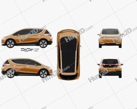 Chevrolet Bolt Concept 2015 clipart