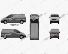 Chevrolet City Express 2015 clipart