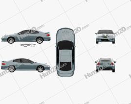 Chevrolet Lumina SS Coupe 2002 Clipart