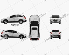 Chevrolet Captiva (JP) 2015 car clipart
