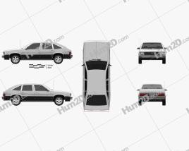 Chevrolet Citation 1980 car clipart