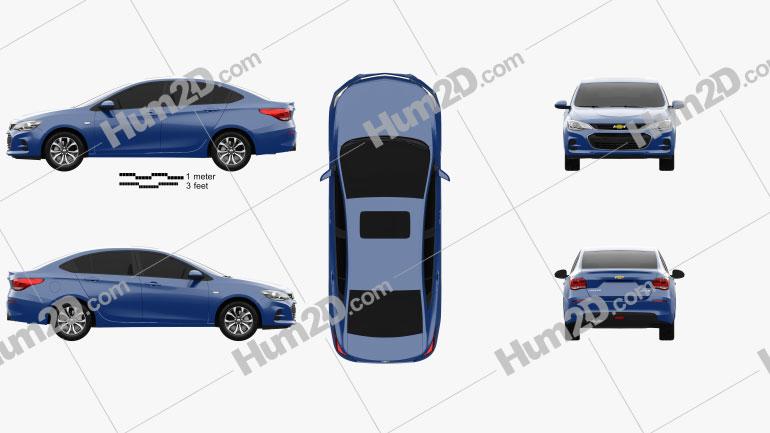 Chevrolet Cavalier 2016 Clipart Image