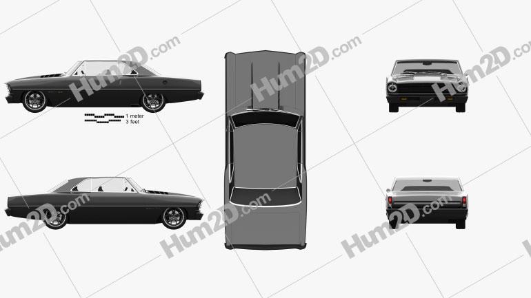 Chevrolet 1967 Nova 2.0 2015 Imagem Clipart