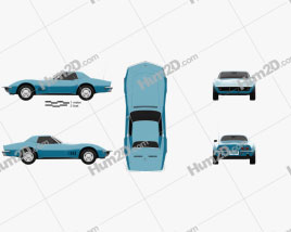 Chevrolet Corvette (C3) Convertible 1968