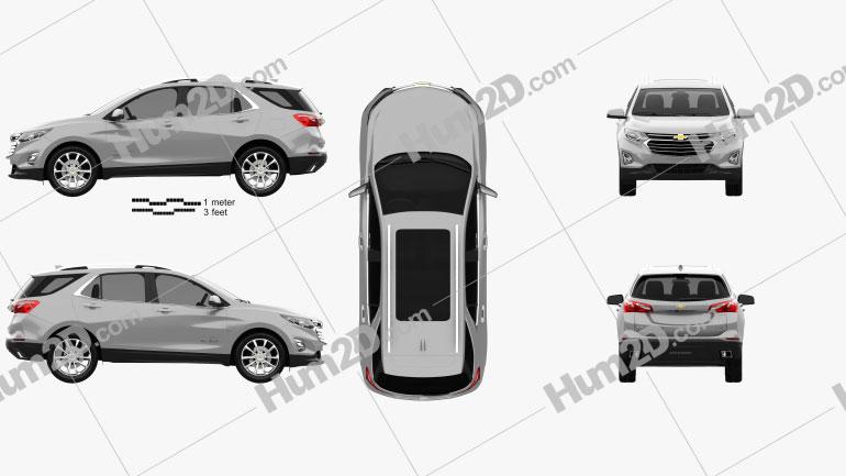 Chevrolet Equinox (CN) 2018 Clipart Image
