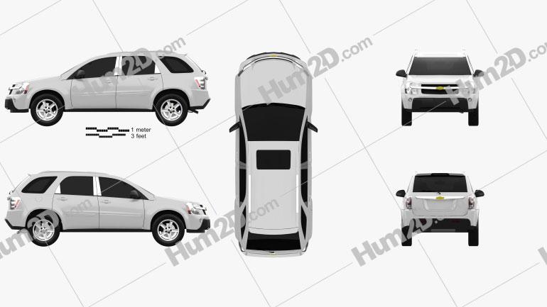 Chevrolet Equinox LT1 2005 car clipart