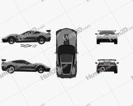 Chevrolet Corvette (C7) ZR1 coupe 2017