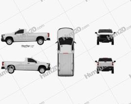Chevrolet Silverado Regular Cab WT 2018