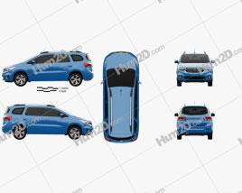 Chevrolet Spin LTZ 2018 clipart