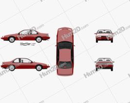 Chevrolet Beretta GT with HQ interior 1988