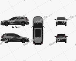 Chevrolet Orlando Redline 2018 clipart