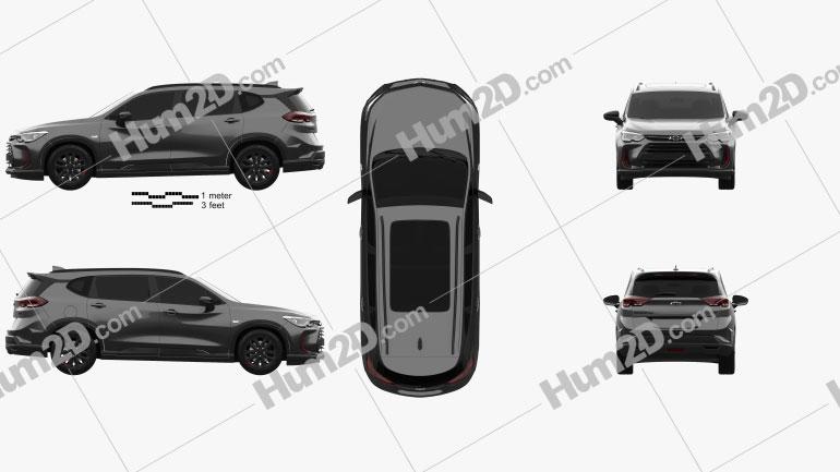 Chevrolet Orlando Redline 2018 Clipart Image