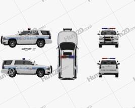 Chevrolet Tahoe Police 2016
