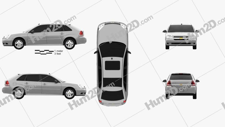 Chevrolet Malibu Maxx 2003 car clipart