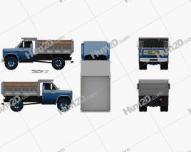 Chevrolet C70 Dump Truck 1979 clipart