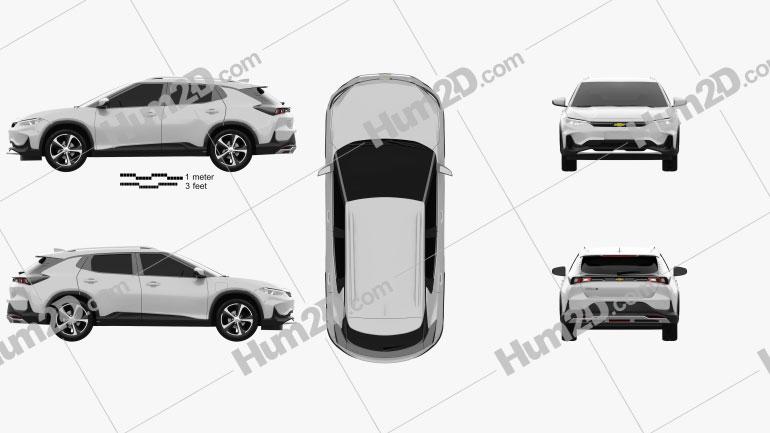 Chevrolet Menlo 2019 car clipart