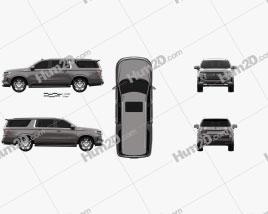 Chevrolet Suburban High Country 2020