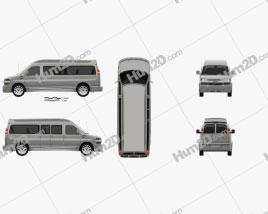 Chevrolet Express Explorer Limited SE LWB 2019 clipart