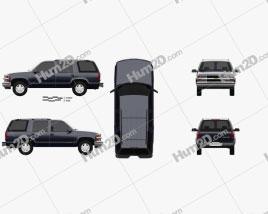 Chevrolet Tahoe LT 4-door 1995