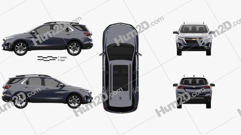 Chevrolet Equinox Premier 2020 Clipart Image