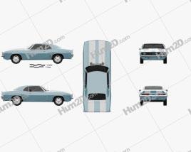 Chevrolet Camaro 350 coupe 1969